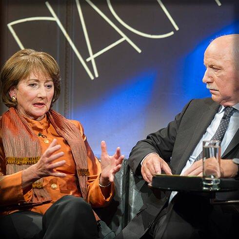 Wieland Backes, Helga Breuninger, Nachtcafé, Biographie, Biografie, Auf der Couch, Ich trage einen großen Namen